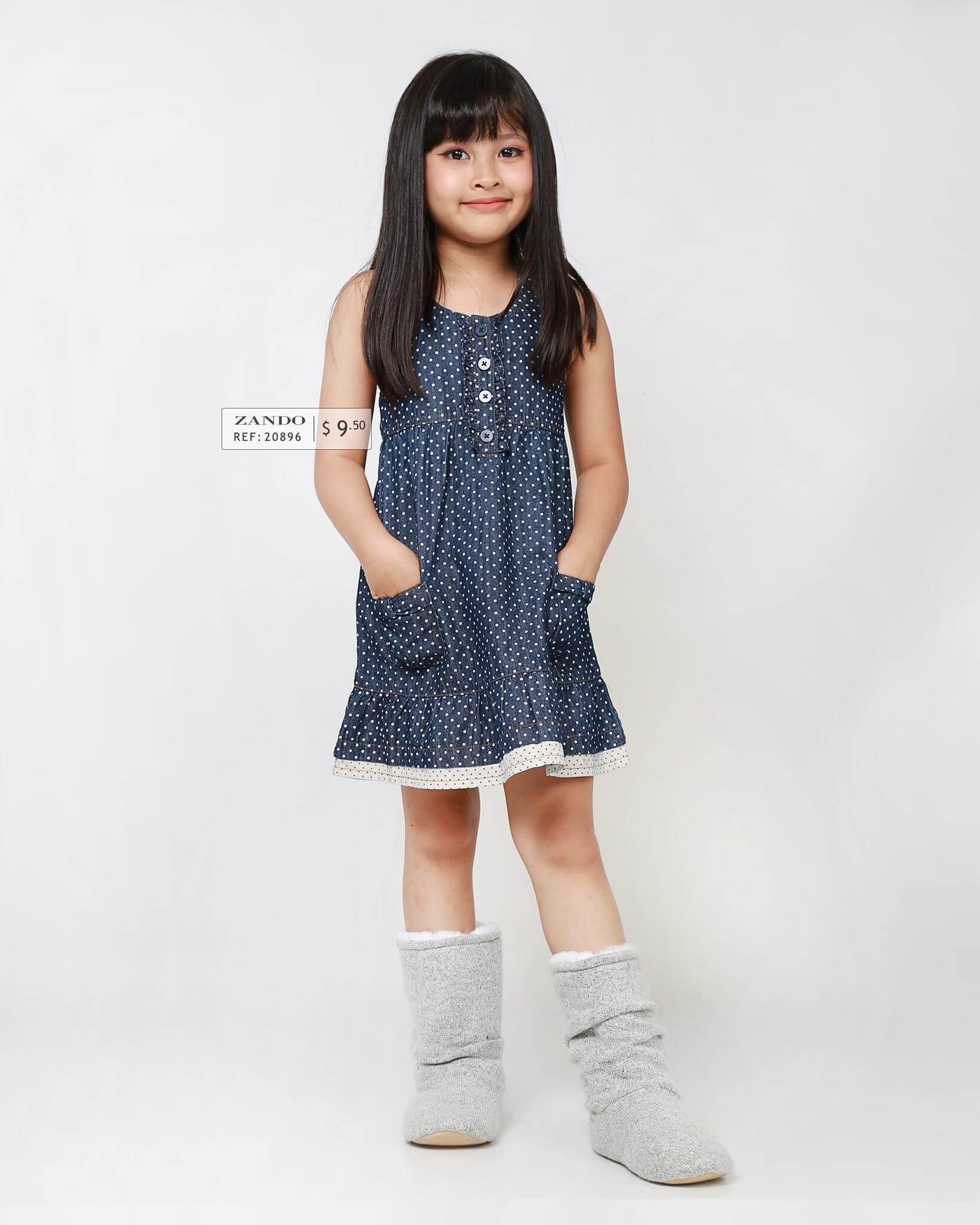 Kids Over Printed Jersey Dress